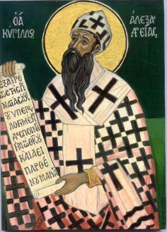Cyril of Alexandria 376-444